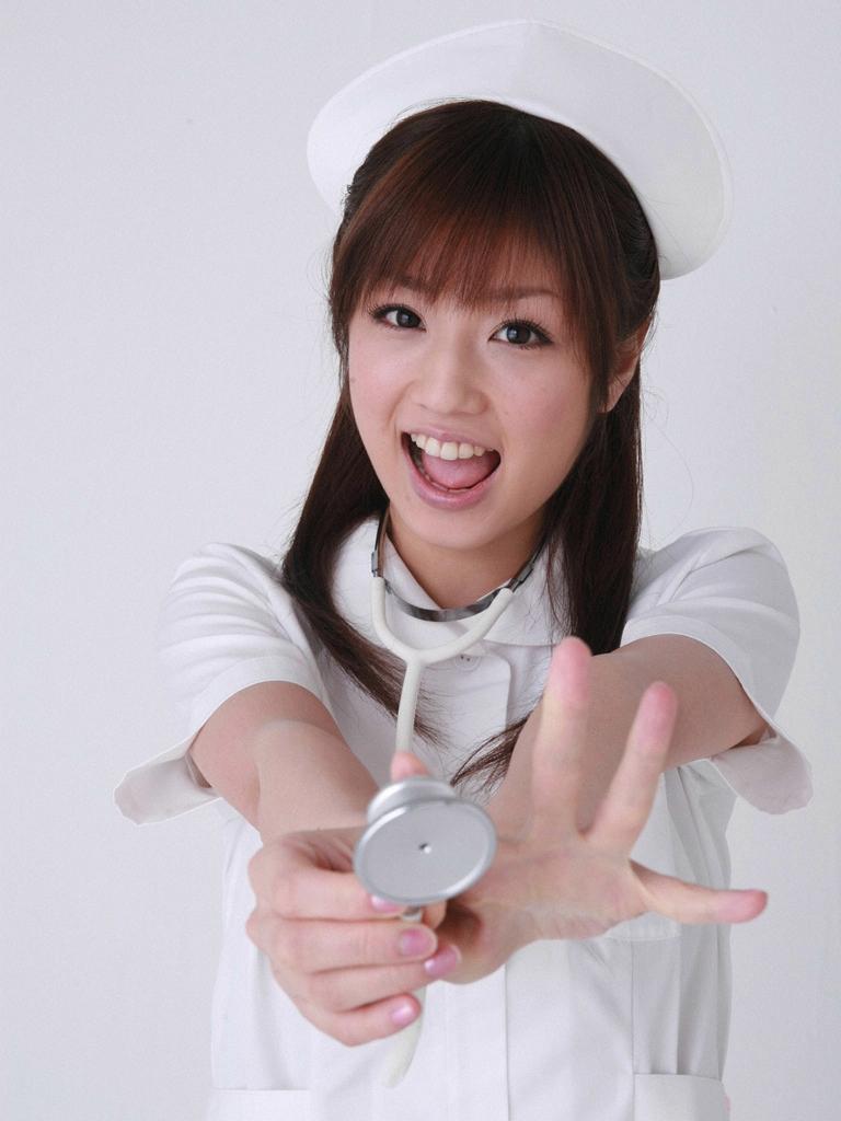 Hình nền Girl xinh làm cô y tá dễ thương nhất
