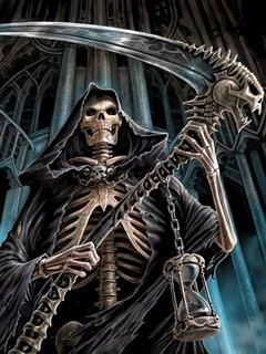 Hình nền kinh dị - Bộ xương di động