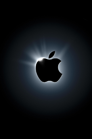 Hình nền apple đen trắng tuyệt đẹp