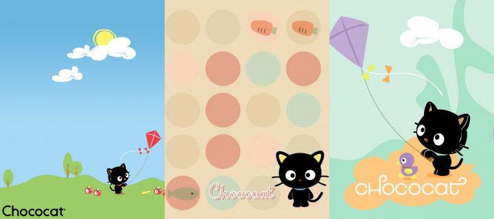 Ảnh hình nền điện thoại - Mèo đen dễ thương