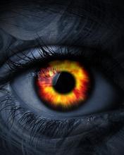 Hình nền mắt thần cực kinh dị