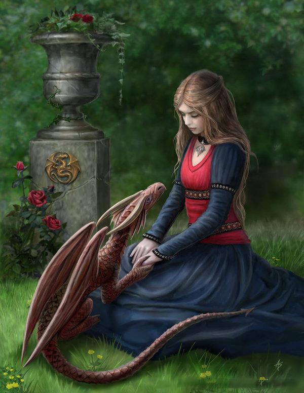 Hình nền 3D nàng công chúa ở trong rừng tuyệt đẹp