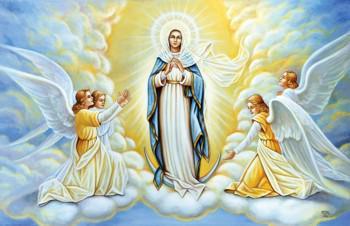 Hình nền đức mẹ ban phước lành cho chúng con