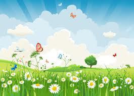 Hình nền hoa lá mang sắc màu cuộc sống