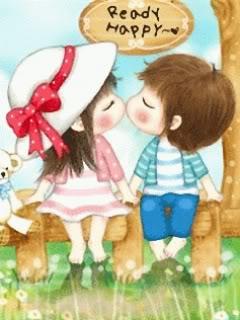 Hình nền kiss cực lãng mạn