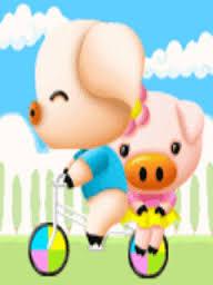 Hình nền lợn - Cặp vợ chồng dễ thương nhất