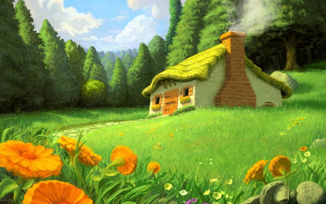 Hình nền nhà đẹp như mơ