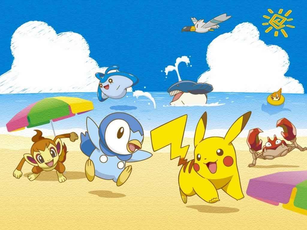 Hình nền Pokemon huyền thoại một thời