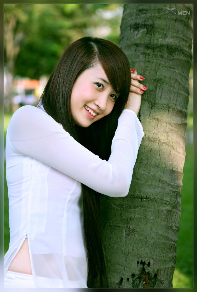Hình nền Girl xinh Việt Nam với áo dài tuyệt đẹp