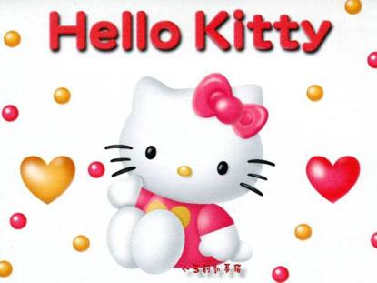 Hình nền hoạt hình Hello Kitty siêu dễ thương