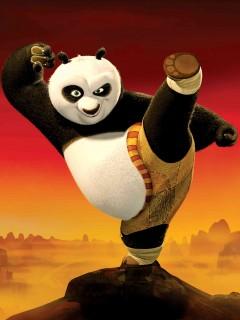 Hình nền hoạt hình kungfu panda đẹp tuyệt vời