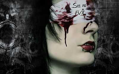 Hình nền kinh dị - Đôi mắt biết nói