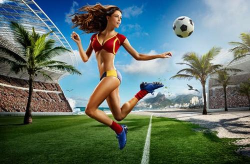 Hình nền thể thao cực đẹp khởi động cùng world cup 2014