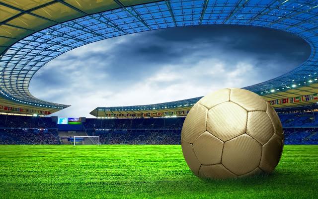 Hình nền thể thao - Lăn cùng trái bóng