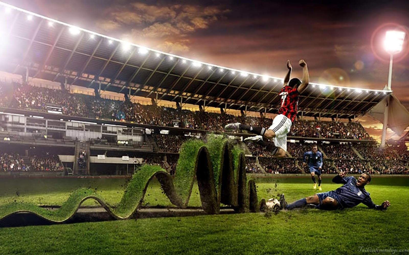 Hình nền thể thao - Tinh thần bất diệt trên sân cỏ