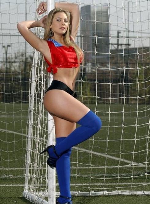 Hình nền girl xinh cuồng nhiệt mùa world cup