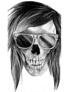 Hình nền kinh dị - Đầu nâu đeo kính cực chất