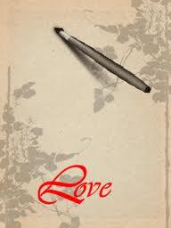 Hình nền thư pháp - chữ Love tuyệt đẹp
