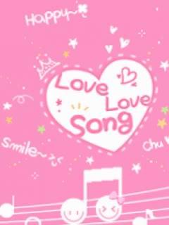 Hình nền tình yêu Love song cực dễ thương