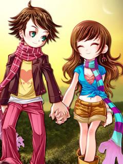 Hình nền tình yêu – Nắm tay em thật chặt, giữ tay em thật lâu