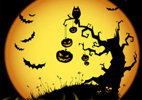 Hình nền halloween cực kì ma quái