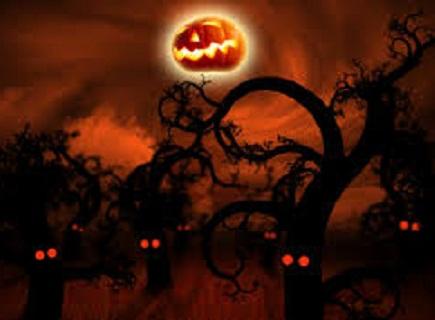 Hình nền halloween hắc ám nhất
