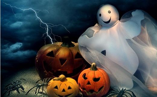 Hình nền halloween -  Ma quỷ và bí ngô cực đẹp