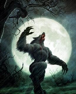 Hình nền halloween - Ma sói khát máu