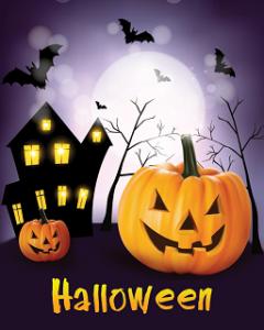 Hình nền halloween – Những quả bí ngô cười man rợ