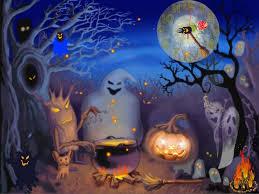 Hình nền halloween - Bữa tiệc của ma quỷ