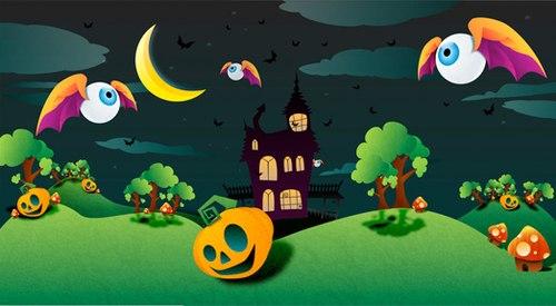 Hình nền halloween cực yêu cho điện thoại