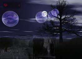 Hình nền halloween - Đêm trăng quỷ dị