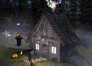 Hình nền halloween - Ngôi nhà ma quỷ