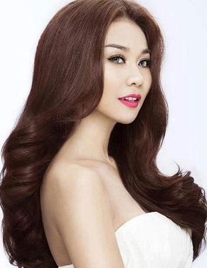 Hình nền girl xinh với suối tóc bồng bềnh