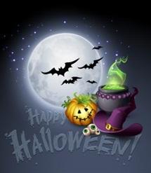 Hình nền halloween cực đẹp cho dế yêu