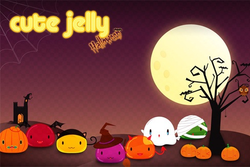 Hình nền halloween siêu cute