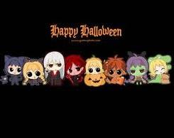 Hình nền halloween siêu dễ thương