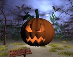Hình nền halloween - Sự đe dọa từ bí ngô