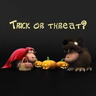 Hình nền halloween - Trick or Threat