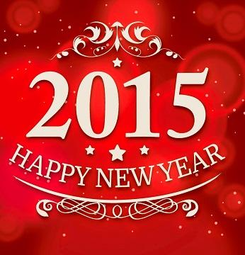 Hình nền năm mới 2015 đẹp rực rỡ