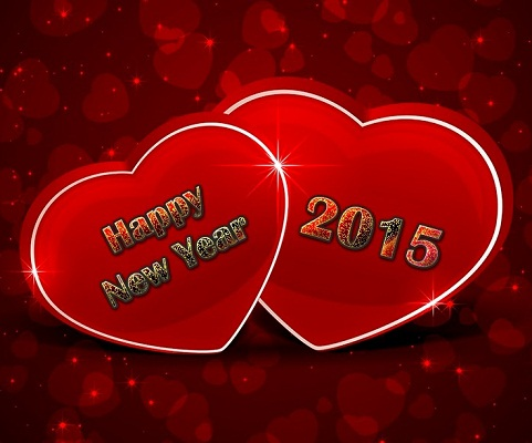 Hình nền năm mới - Tình yêu hạnh phúc