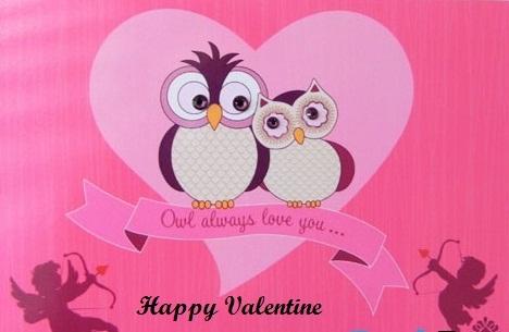 Hình nền valentine ngộ nghĩnh