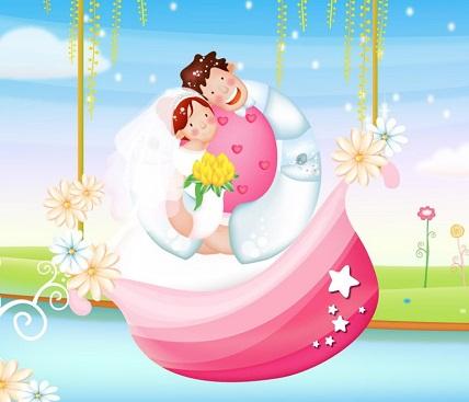 Hình nền valentine - Hạnh phúc ngọt ngào