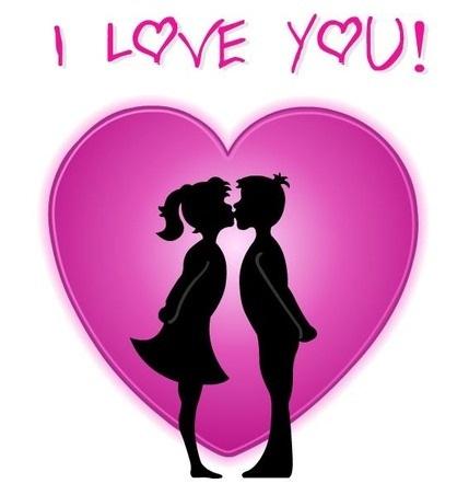 Hình nền valentine - I love you