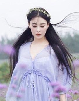 Hình nền girl xinh như thiên thần hoa