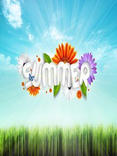 Hình nền mùa hè ngát hương hoa