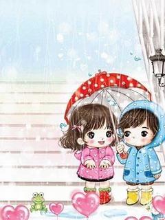 Hình nền tình yêu cực dễ thương