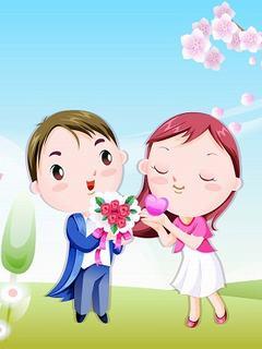 Hình nền tình yêu - Màn cầu hôn lãng mạn