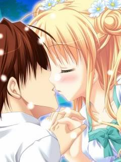 Hình nền tình yêu – Nụ hôn ngọt ngào