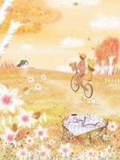 Hình nền tình yêu - Xe đạp tung tăng